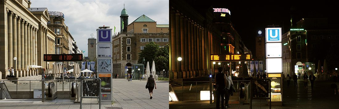 Brotkrumen und Kieselsteine - (Dis)Orientation in public spaces and urban areas