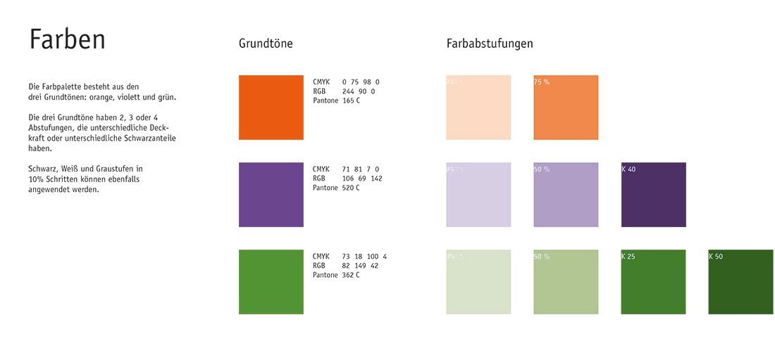 Lockstoff - Styleguide (colours)